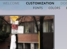 image of avum customization page