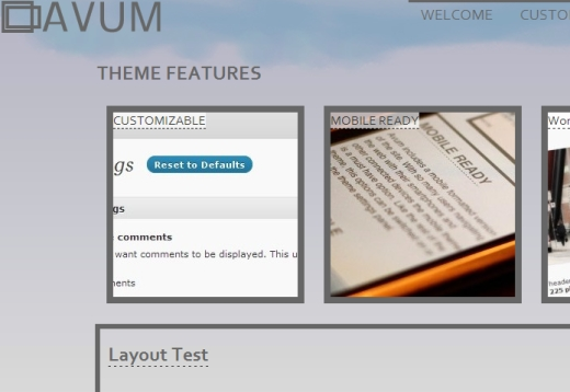 thumbnail of the theme
